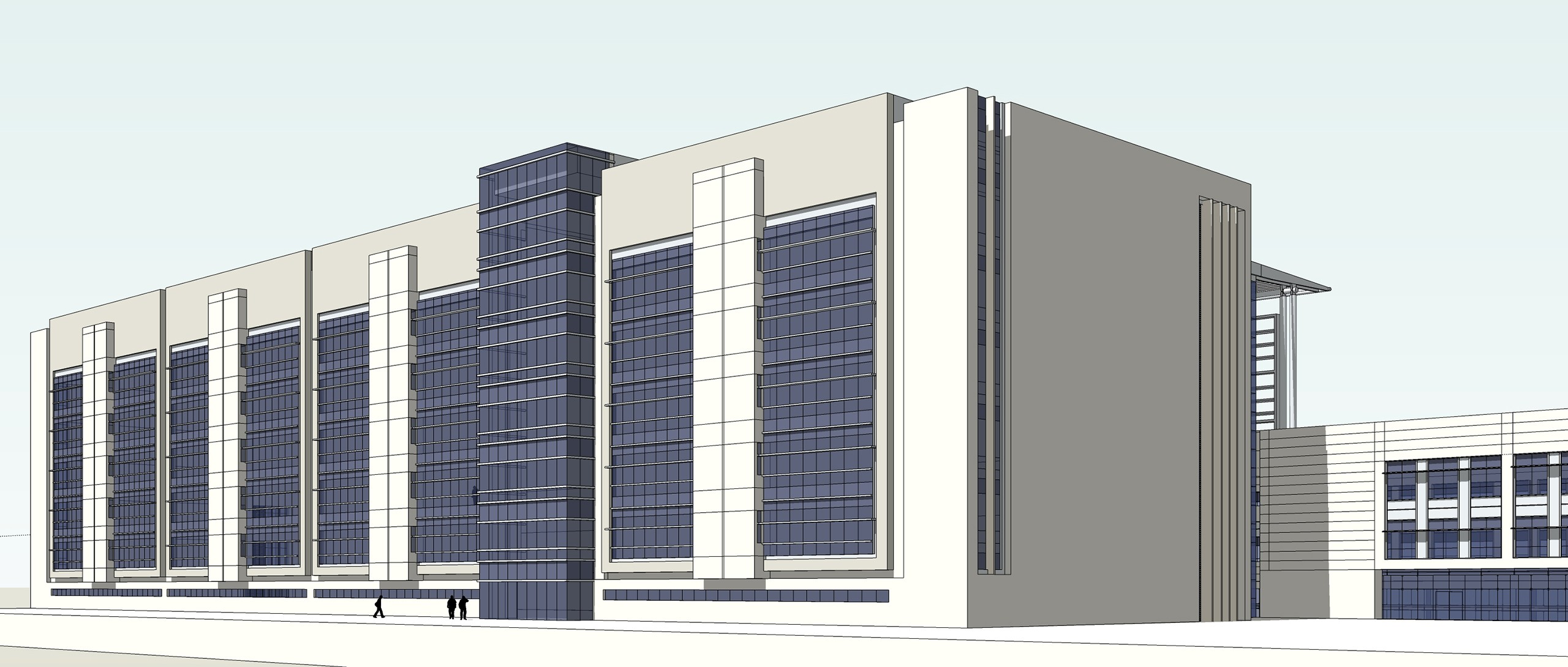 Long Beach Courthouse- Competition | Long Beach, CA